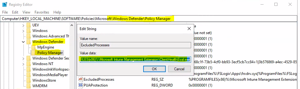Check Event Logs to Review Microsoft Defender Policy Changes