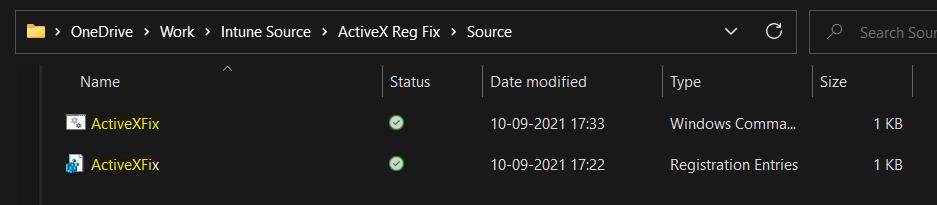 Deploy Registry Fix using Intune Win32 App 1