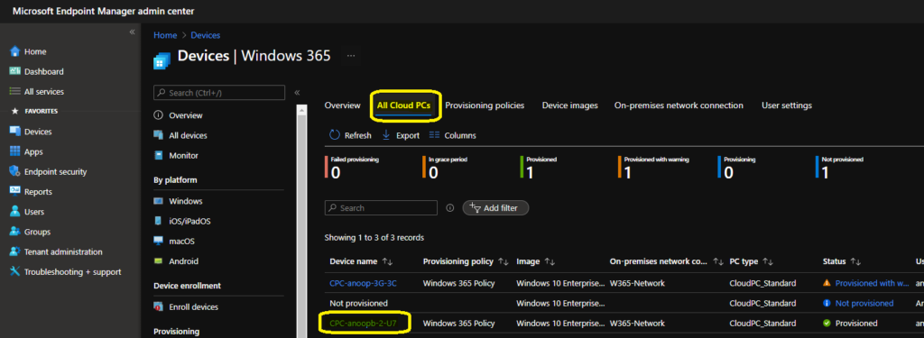 Learn How to Resize Cloud PC Windows 365