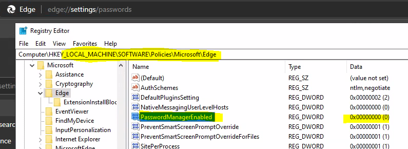 Troubleshoot Microsoft Edge Security Policy Deployment issues with Intune