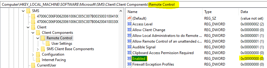 Build CMPivot Query to Check the Registry Value