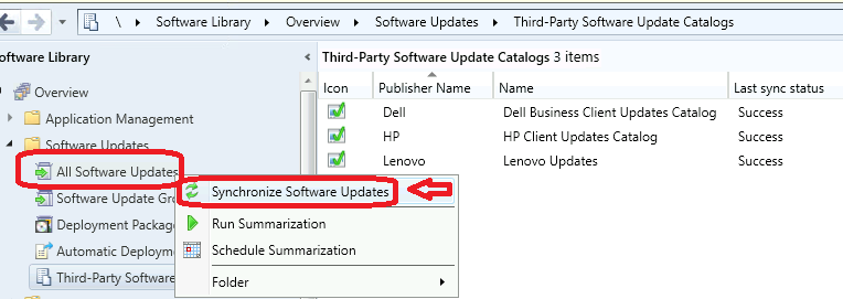 WSUS Sync Issue with Cumulative Updates Patches