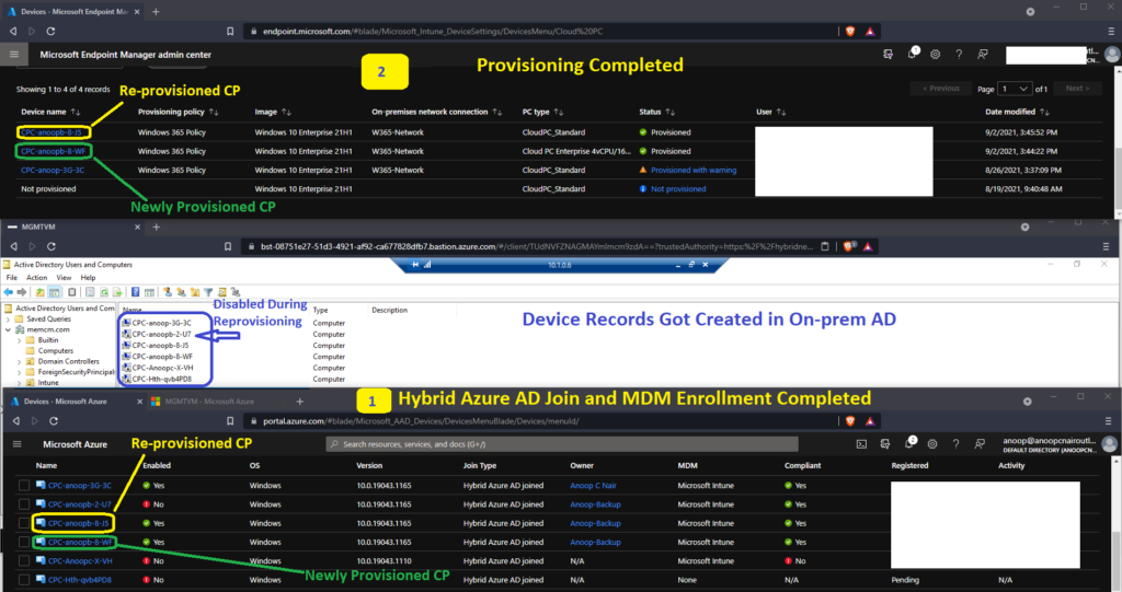 How to Reprovision Cloud PC Windows 365 1