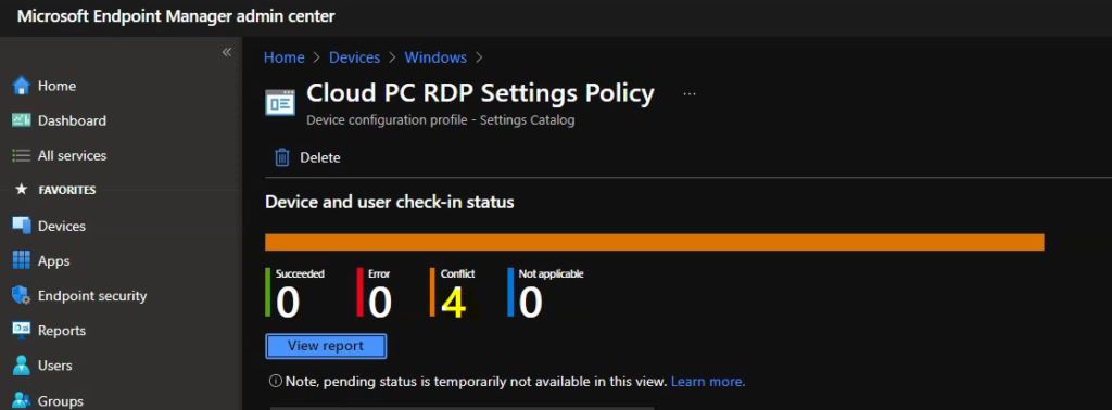 Fix Intune Policy Conflict in Intune