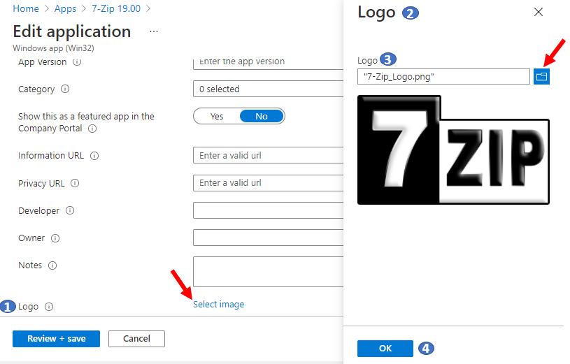 Configure Intune Company Portal Application Icon