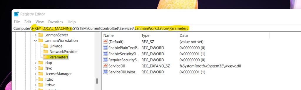 Configure Windows 11 SMB compression improvements to Compress File Aggressively 1
