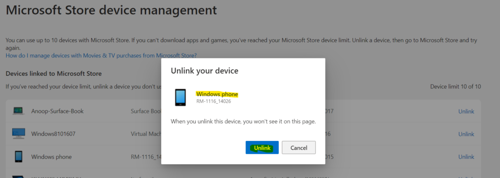 Fix Device Limit for Microsoft Store on Windows 11