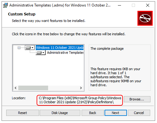 Install Administrative Templates - Download Windows 11 Administrative Templates