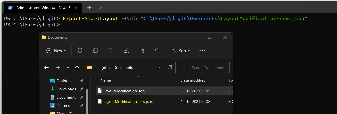 Create Windows 11 Custom Taskbar Layout XML