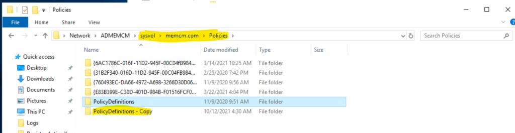 Download Windows 11 Administrative Templates 1