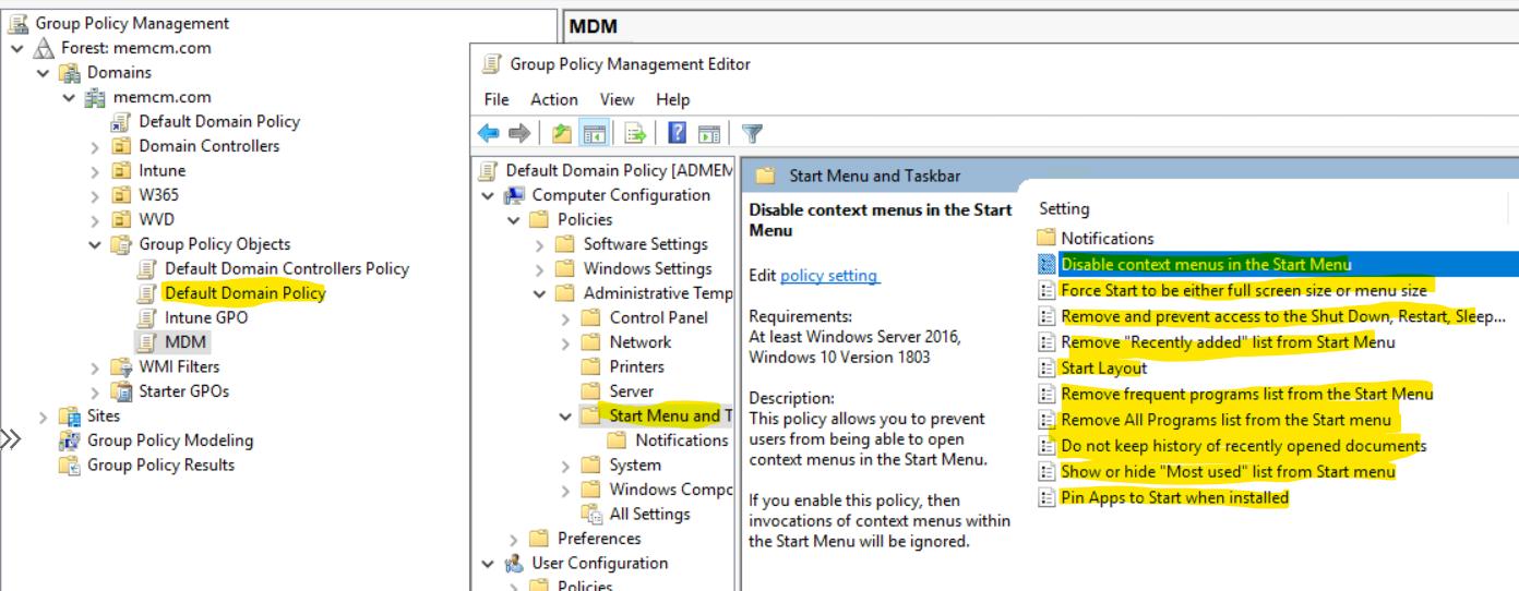 Windows 11 Taskbar Customization Using Intune MEM 4