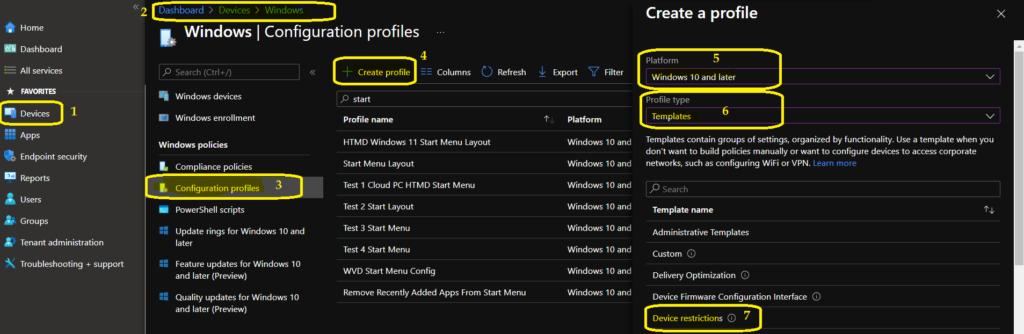 Windows 11 Taskbar Customization Using Intune MEM