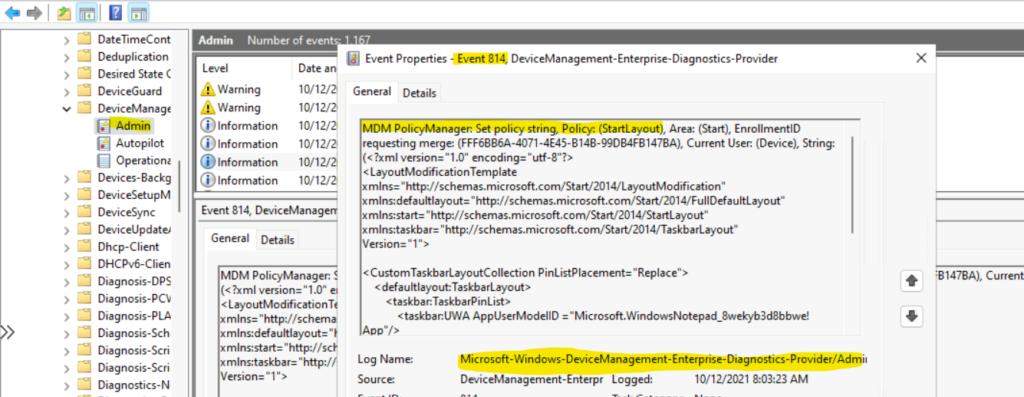Windows 11 Taskbar Customization Using Intune MEM 2