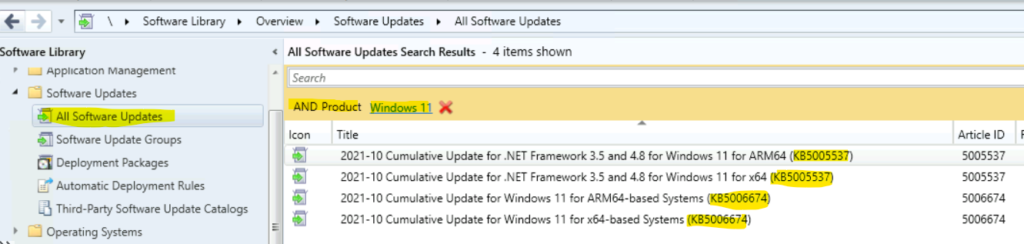 Windows 11 Patch Deployment using SCCM