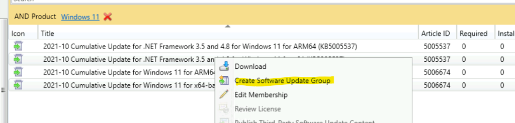 Windows 11 Patch Package Creation and Deployment