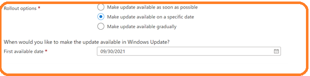 Windows 11 Feature Updates Scheduling Options - Coming Soon