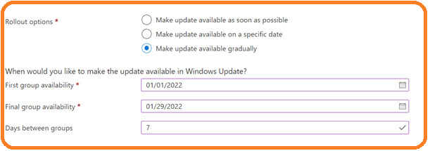Upgrade to Windows 11 using Intune Feature Update Deployment Policy 2