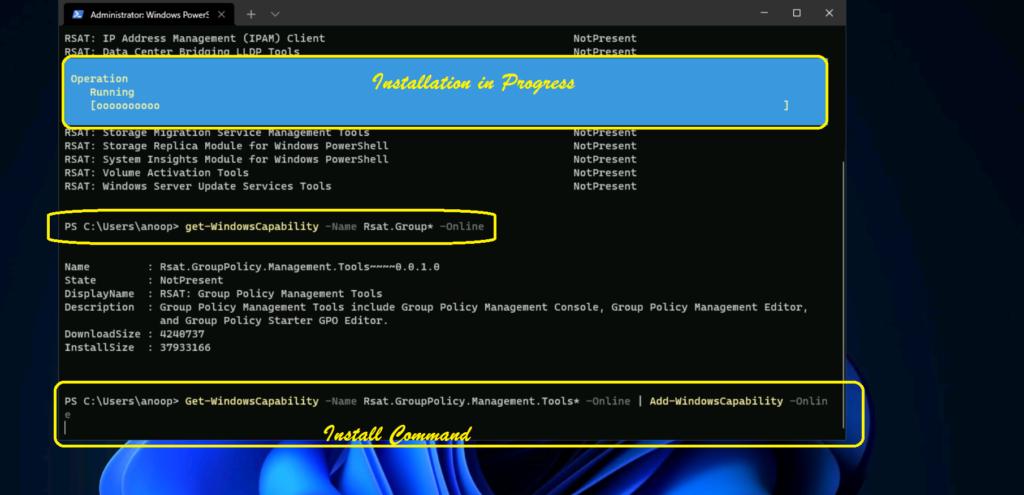 How to Install RSAT on Windows 11 PCs 4